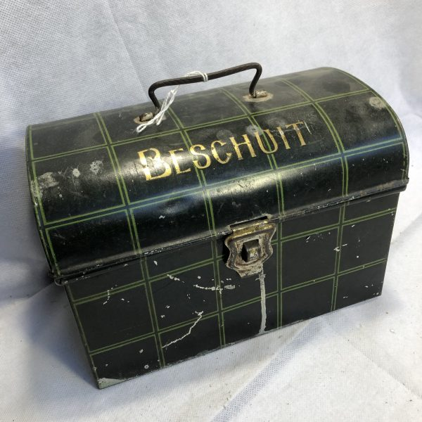 vintage beschuit trommel